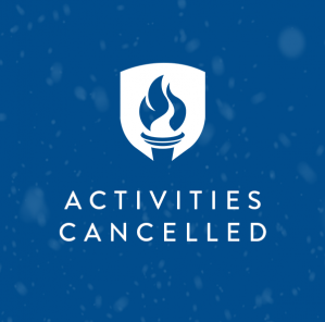 ACTIVITIES CANCELLED